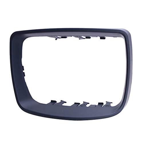 Uzinb Côté Droit Voiture en Plastique rétroviseur Cadre de Protection Anneau de Garniture 51168254904 de Remplacement pour BMW X5 E53 00-06