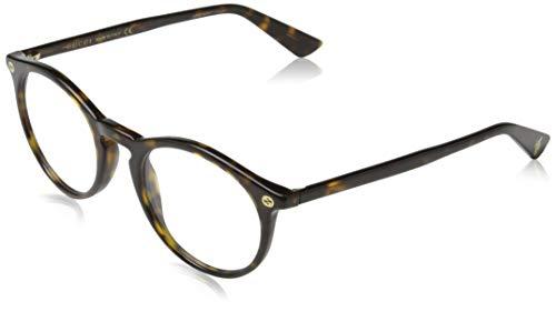 Gucci Brillengestelle GG01210-2-49 Rund Brillengestelle 49, Braun