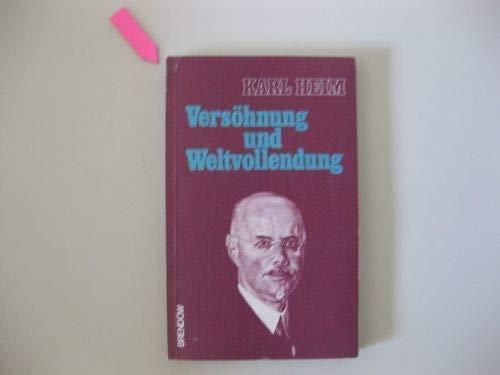 Versöhnung und Weltvollendung. Hrsg. von Adolf Köberle / Edition C / XNr. 57204