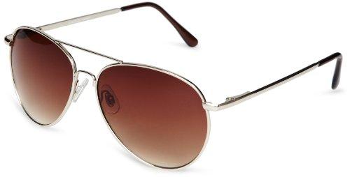 Eyelevel Sergeant Pilot Style Unisex Adult Sunglasses Brown One Siz