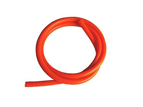 AUTOMAX izumi シリコン (4mm) 柿 シリコンホース 耐熱 汎用 内径4ミリ オレンジ バキュームホース