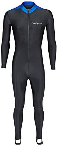 NeoSport Wetsuits Cuerpo Completo Deportes mobifox, Buceo, Snorkel y Nadar, Unisex, Negro y Azul