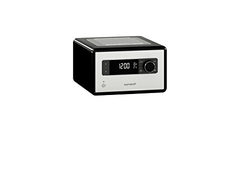 sonoroRADIO Schwarz Radio Musiksystem mit Bluetooth und DAB+ Radio, Meditation- und Naturklängen