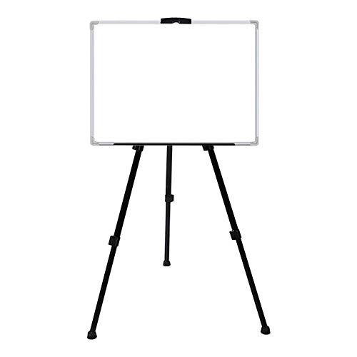 Tableau blanc Double-Sided Trépied permanent magnétique Whiteboard carte de démonstration flip réglable Conseil Présentation universelle ForOffices enseignants Whiteboard Tableau blanc mobile