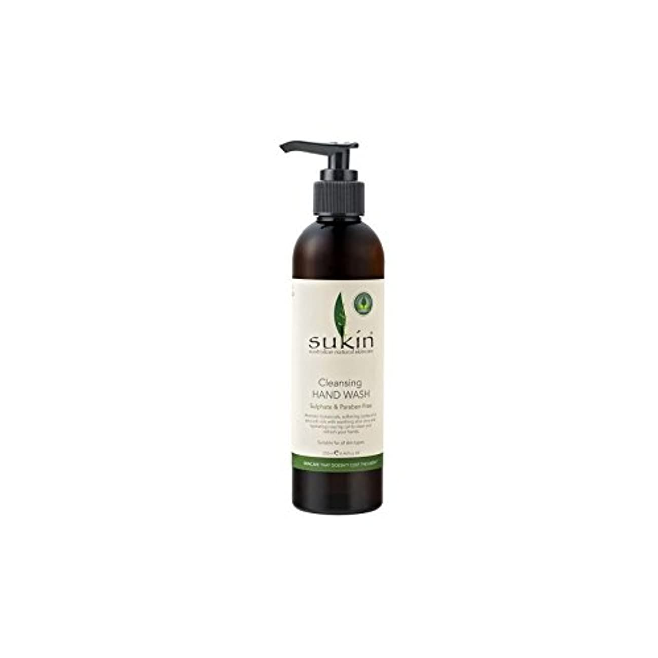 計器すなわち松の木Sukin Cleansing Hand Wash (250ml) (Pack of 6) - クレンジングハンドウォッシュ(250ミリリットル) x6 [並行輸入品]