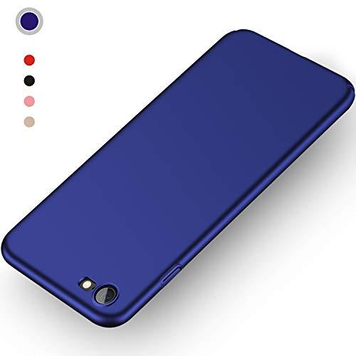 Aollop HüllefüriPhone7/iPhone8, Ultra Dünn Stoßdämpfend,Staubschutz,Anti-Kratz Schutzhülle,FederleichtHülleBumperCoverSchutztascheSchaleCasefüriPhone7/iPhone8(4.7 Zoll-Dunkel Blau)