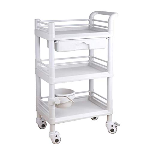 Buy Bargain LXX Recycling Vehicles,Beauty Salon Spa Tool Holder Cart with Abs Drawers, Medical Equip...