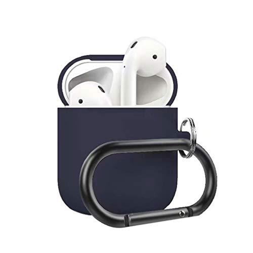 Cdrox Auricolare Carica Caso della Protezione Anti-Perso Sostituzione della Calotta di Protezione Earbuds Caricatore per AirPods