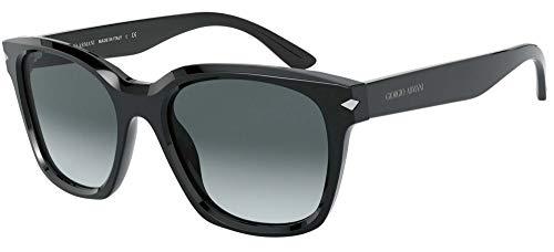 Giorgio Armani Gafas de Sol AR 8134 Black/Grey Shaded 52/19/145 mujer