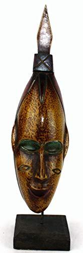 afriqueartdecoration.com Masque Passeport sur Socle 6528-S6V-1810