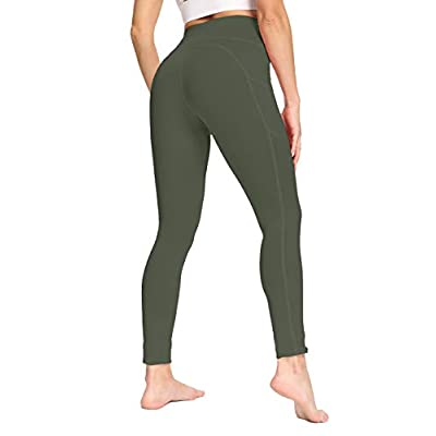 IOJBKI High Waisted Yoga Pants Tummy Control Workout