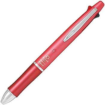パイロット 複合筆記具(ボールペン黒0.5mm・赤・青・緑・シャープ0.3mm)ドクターグリップ フォープラスワン BKHDF−1SEF3 パールレッド PR