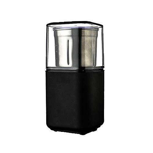 IQQI Elektrische Kaffeemühle, 200W mit Klingen aus rostfreiem Stahl, Gewürzmühle, Fast Schleifen für Kaffeebohne, Gewürze, Nuss und Kräuter, Low-Noise