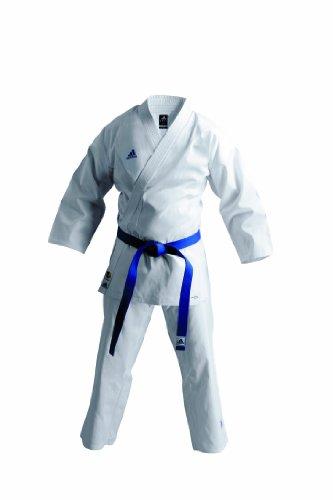 adidas K220K Unisex - Uniforme de Artes Marciales, tamaño 6/190, Color Blanco