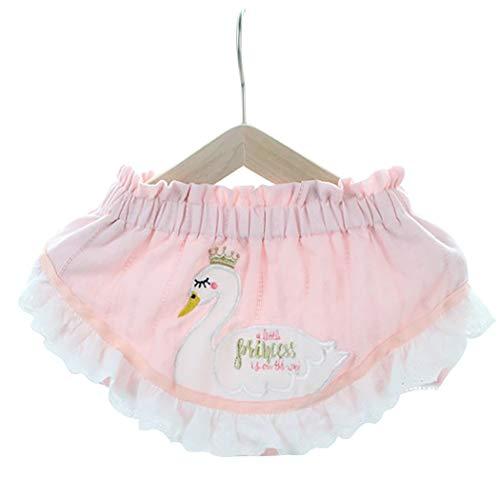 Fascigirl Doek Luier Herbruikbare Cartoon Wasbare Baby Pocket Luier Zwemluier voor de zomer 1 roze