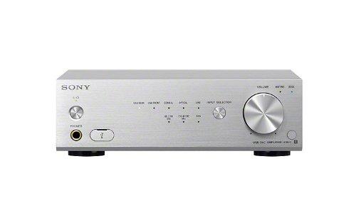 Sony UDA-1/S High-resolution Audio USB DAC Stereo Amplifier, Silver