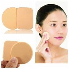 BoldnYoung Pack of 2 Make up Cosmetic Foundation Powder Puff Sponge