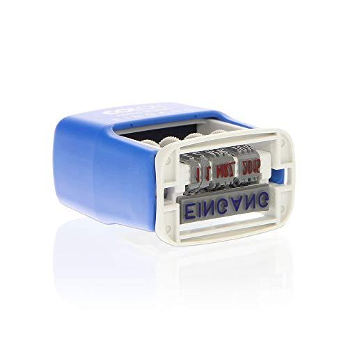 Colop S160/L1 MiniDater 5 x 25 mm, 4 mm Kissen rot/blau Eingang