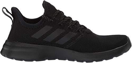 adidas Men's Lite Racer RBN Sneaker, Black/Black/Grey, 11.5 M US