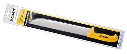 ISOVER 729903 Glattschliff 30cm-für festere Mineralwolle-Produkte Extra stabiles und langes Messer für den Dämmstoff-Zuschnitt