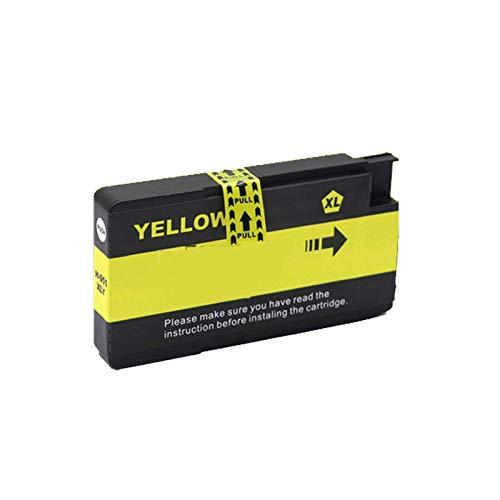 TEZAI Adecuado para HP 7110 Cartucho de Tinta HP OfficeJet 7612 Cartucho de Tinta 7510 932XL / 933XL Color 7610 6100 6700 7512 Impresora con Negro Yellow
