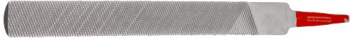 Simonds Hand File for Aluminum, American Pattern, Double Cut, Half-Round, Coarse, 6' Length, 19/32' Width, 5/32' Thickness