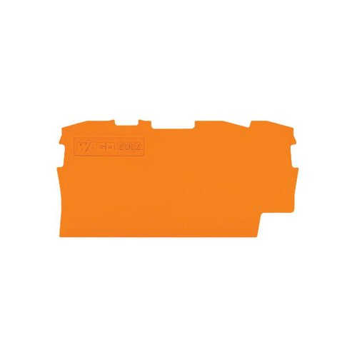 WAGO Kontakttechnik Abschluss-u.Zwischenplatte 2010-1392 1mm dick Abschluss- und Zwischenplatte für Reihenklemme 4044918271769