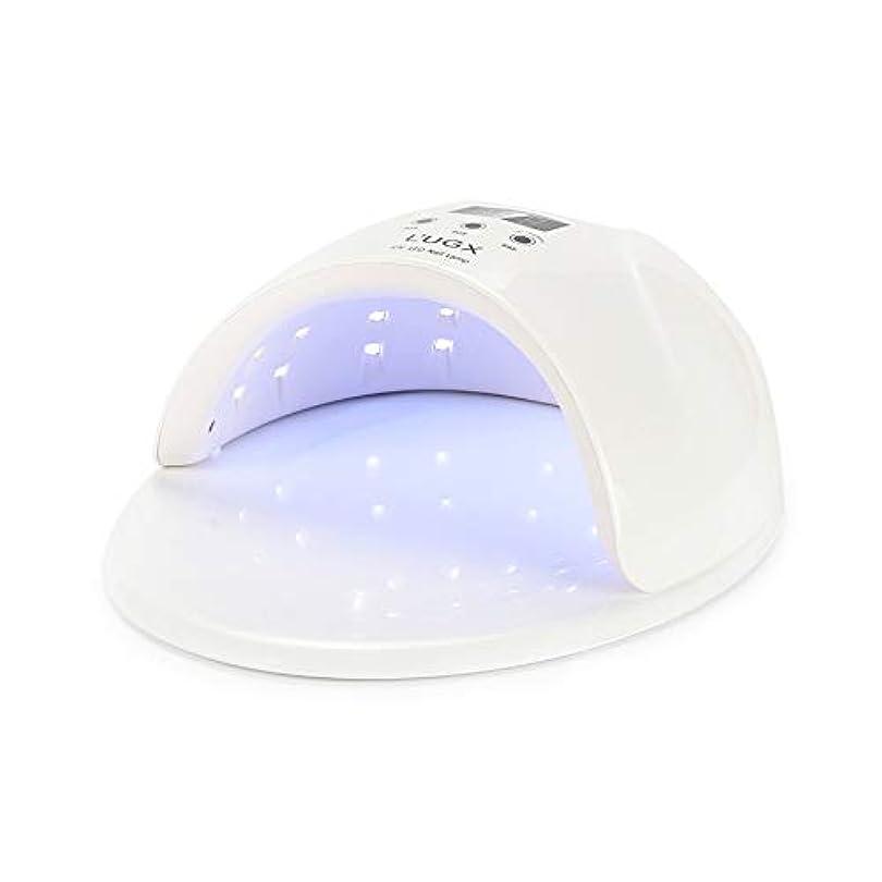 レベル裕福なサバントジェルネイルランプ、3タイマー設定付き50W UV LEDジェルネイルドライヤー - ジェルネイルポリッシュランプ