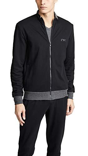 Emporio Armani Herren Sweatshirt (L, 00020 Black)