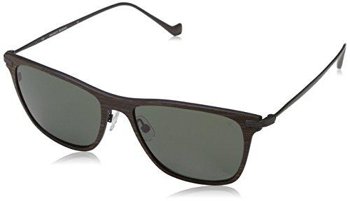 Hackett London Hsb863 Gafas de sol, Marrón, 55 para Hombre
