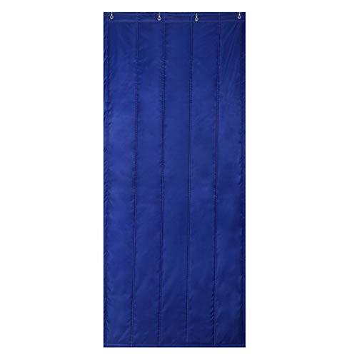 Winter Warm Thicken Warm Door Curtain, Cold Windbreak Windproof Partition Curtain, Soundproof for Household Doorway School, for AC Room, Kitchen, Stair