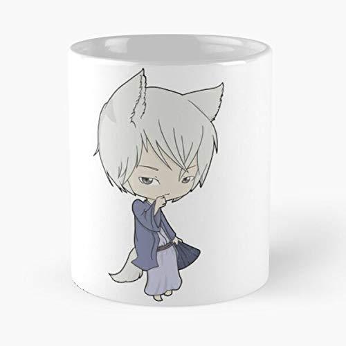 NGTHIUHAN Cartoon Manga Fox Anime Hajimemashita Kamisama Tomoe Kiss Best 11 oz Kaffeebecher - Nespresso Tassen Kaffee Motive