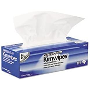 -- KIMWIPES Delicate Task Wipers, 3-Ply, 11 4/5 x 11 4/5, 119/Box, 15 Boxes/Carton by 4COU
