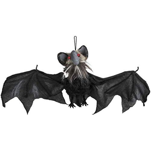 Boland BOL73030 Decorazione Animata Pipistrello Maledetto Halloween, Taglia Unica