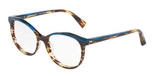 Alain Mikli Brillen Gafas de Vista 0A03069 BLUE HAVANA 54/17/140 Damen