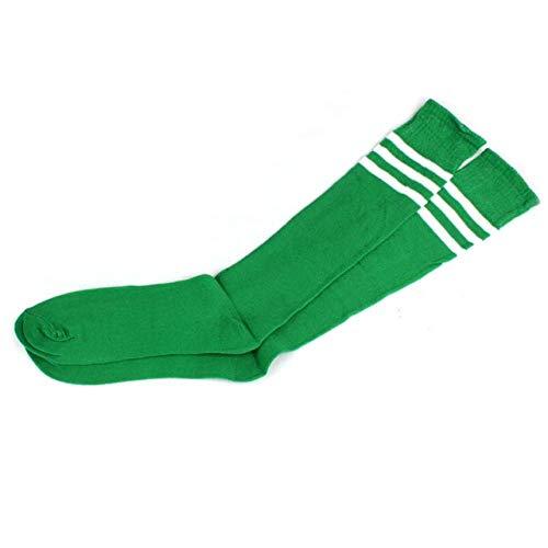 TIGERROSA Sneaker sokken 4 paar kousen over knieën meisjes vrouwen Cheerleader Calcetines Mujer goedkoop groen
