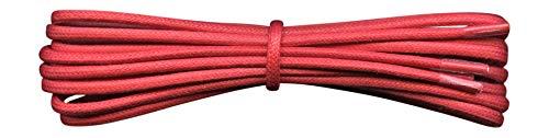 Fabmania 2 mm redondo rojo encerado algodón cordones-75
