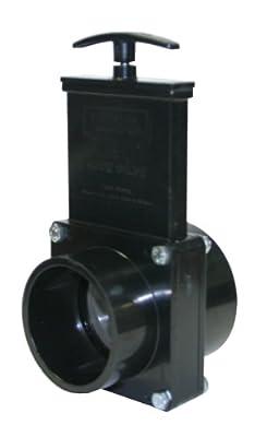 "Valterra 5302 ABS Gate Valve, Black, 3"" Slip x Spig from Valterra Products"