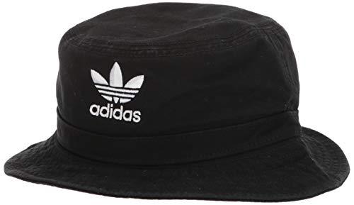 adidas Washed Bucket - Cappello da Donna, Unisex - Adulto, Cappello, 976473, Black/White, Taglia Unica