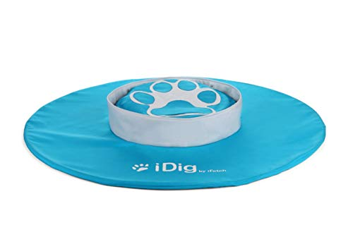 iFetch R-100 iDig Go Digging Toy, IFetch Blue and White, One Size