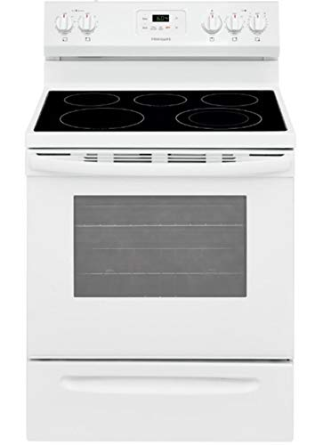 Frigidaire FCRE3052AW 30' Freestanding Electric Range with...