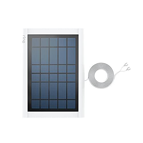 Wir stellen vor: Ring Solarpanel für Ring Video Doorbell 2, Ring Video Doorbell 3, Ring Video Doorbell 3 Plus und Ring Video Doorbell 4 von Amazon | Weiß