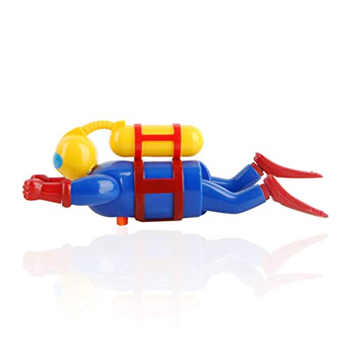 Buzo de Cadena para niños Muñecas Buceo acuático Juguetes para buceadores Natación Juguetes para el baño (Multicolor)