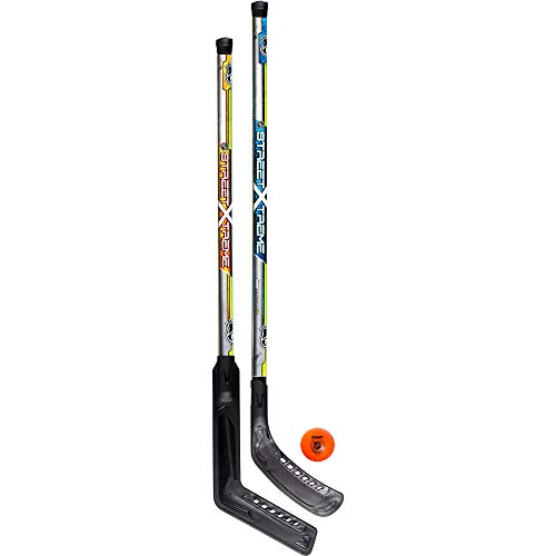 Franklin Sports Street Hockey Set - NHL - Goalie and Player Sticks and Ball