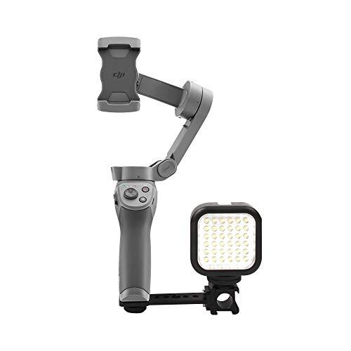 Linghuang bevestigingsplaat drievoudig koud voor Osmo Mobile 2/3 Osmo Action houder verlenging voor LED-lampen monitoren microfoon