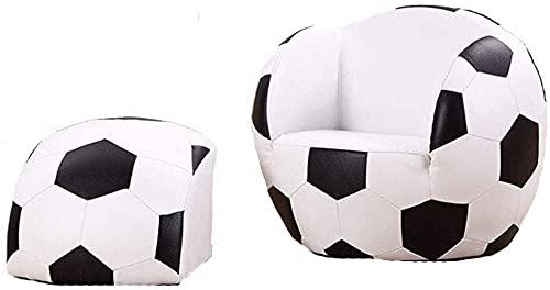 MISS KANG Qingchunw Kinder-Sofa, Fußballsessel, aufblasbares Sofa, Sitzsack-Bezug für die Organisation von Kinderzimmern, passend für viele Stofftiere