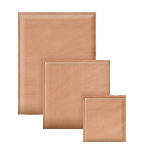 Heat Press Pillows Bundle 3 Pack | Pressing Pillow for Heat Press Pad | Teflon Pillow for Heat Press Pillow Pack Heat Press Accessories