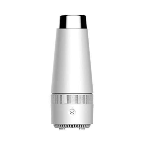 Refroidisseur de bouteille électronique (refroidissement + chauffage), interface USB,interrupteur intelligent à une touche, refroidisseur de bouteille de bière pour bureau de voiture de voyage (A)