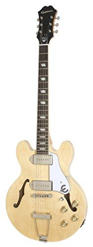 Epiphone CASINO Coupe Thin-Line Hollow Body Electric Guitar, Natural Nebraska