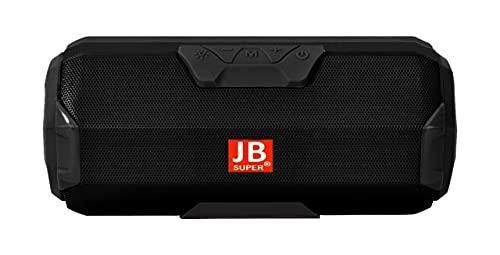 JB Super Bass Portable Wireless Bluetooth Speaker 10W with Built-in mic, TF Card Slot, USB Port - Random Color